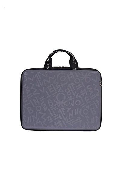 Benetton Bnte50-00 Laptop Çantası Cool Grey