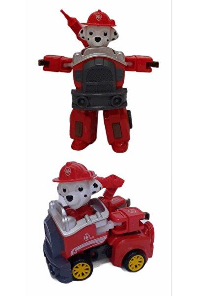 PAW PATROL Marshall Karakteri Transform Robota Dönüşebilen Araba Rs1007