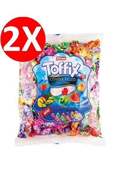 Elvan Toffix Mix Şeker 300 Gr. 2 Li Paket