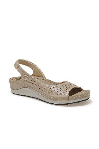 Polaris Kadın Bej Sandalet
