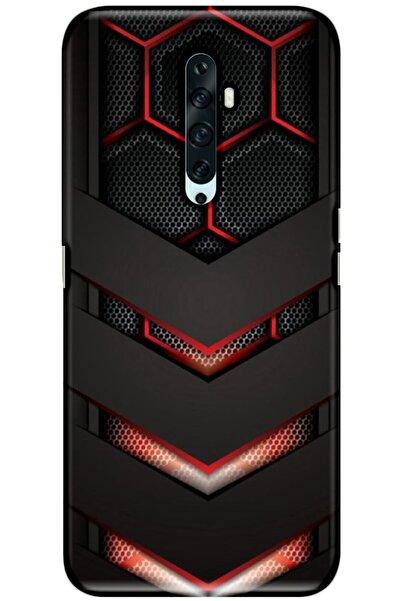 Oppo Reno 2z Kılıf Silikon Baskılı Desenli Arka Kapak