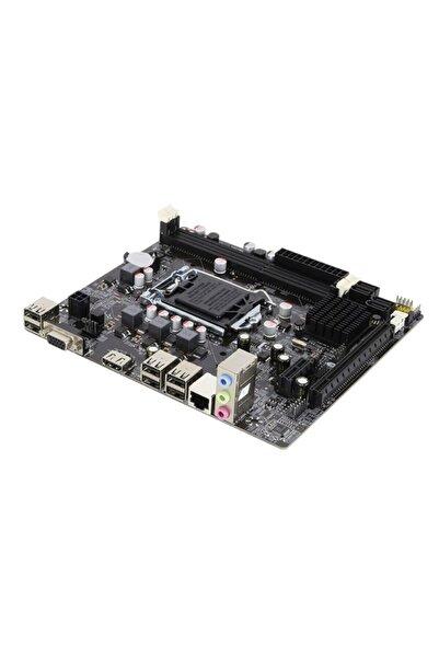 DTS Teknoloji Turbox H61c Intel H61 1600 Mhz Ddr3 Soket 1155 Matx Anakart