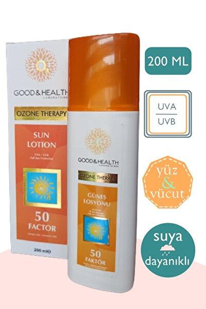 Good & Health Ozonlu Güneş Losyonu 50 Spf - 200 ml