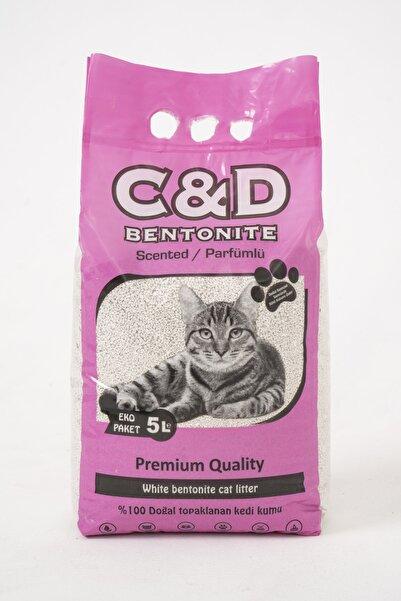 C&D PET C&d Parfümlü Kedi Kumu 5lt