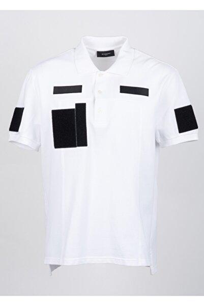 Givenchy Erkek Beyaz Pamuklu T-shirt