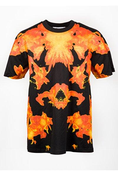 Givenchy Erkek Siyah Baskılı T-shirt