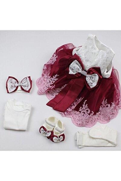 essevim Kız Bebek Mevlüt Takımı Özel Gün Kıyafeti