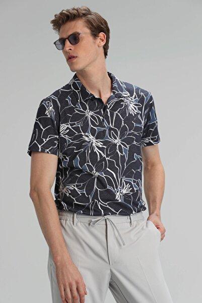 Lufian Oliver Spor Polo T- Shirt Lacivert