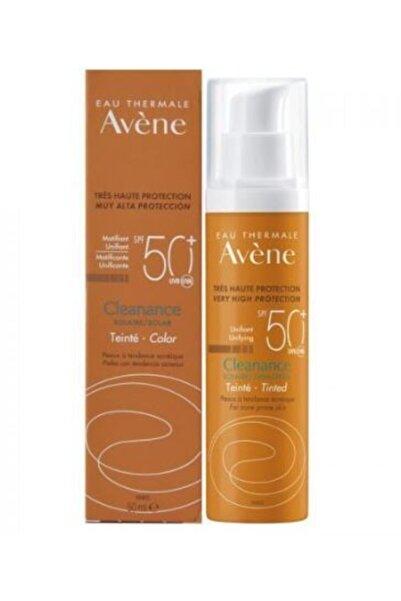 Avene Cleanance Spf50+ Yağlı Ciltler Için Renkli Güneş Koruyucu 50 ml