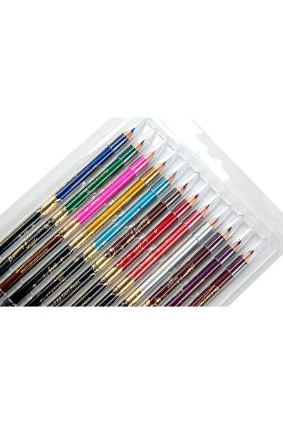 İhvan Kalemtıraşlı Renkli Sürme Kalem