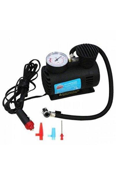 Magnet Pompa Taşınabilir Oto Çakmaklık Girişli 12v Elektrikli Şişirme Pompası Araç Hava Kompresörü