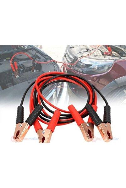 UcuzlukEvi Akü Takviye Şarj Kablosu 1200 Amper Taşıma Çantalı Araç Oto Araba Bakır Aktarma Maşası Kablo 2.3 mt