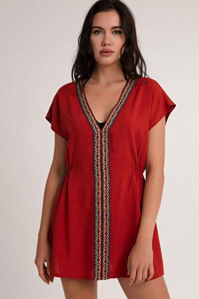 Pattaya Kadın Pareo Plaj Elbisesi P21s201-2677