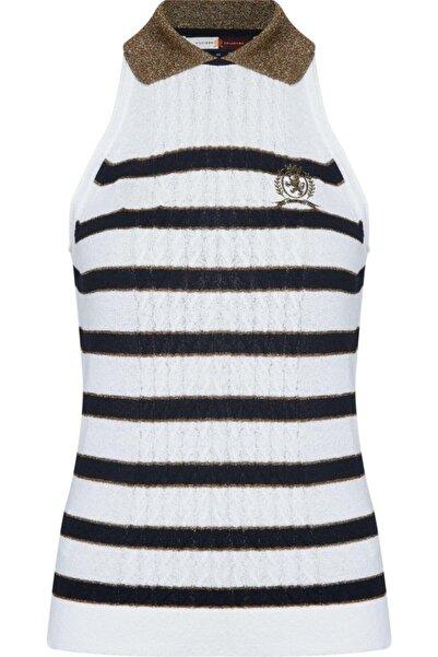 Tommy Hilfiger Hcw Fine Boucle Kolsuz Polo Yaka T-shirt