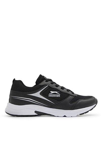 Slazenger Zetel Sneaker Kadın Ayakkabı Siyah / Beyaz Sa11rk006