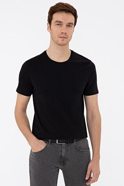 Cacharel Sıyah Erkek T-Shirt G051SZ011.000.1286964