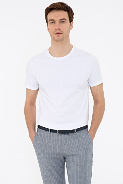 Cacharel Beyaz Erkek T-Shirt G051SZ011.000.1286964