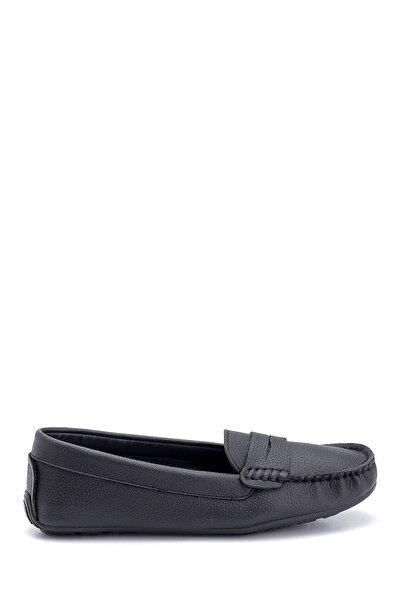 Derimod Kadın Siyah Casual Loafer Ayakkabı