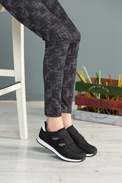 speedlife Kadın Siyah Bağcıklı Ayakkabı