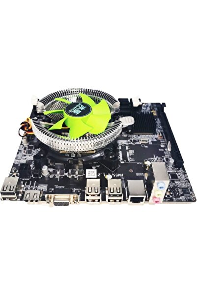 TURBOX Core I5 2.26ghz 4gb Ram Anakart Hm55 Fan Bundle Set