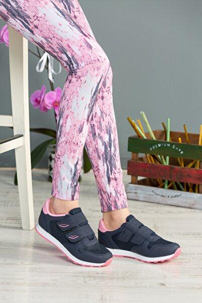 speedlife Kadın Lacivert Bantlı Ayakkabı