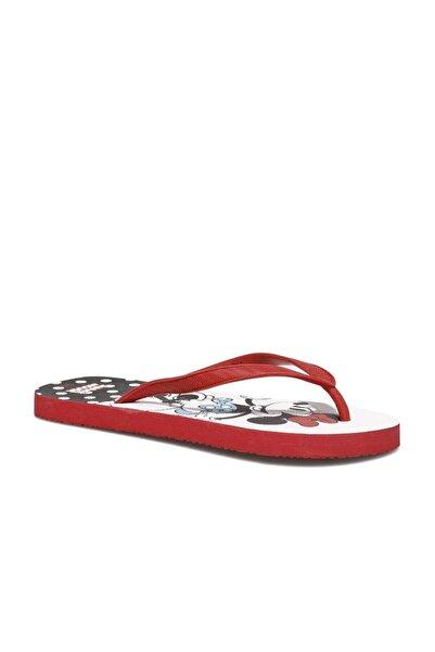 Mickey Mouse Dophe.z1fx Beyaz Kadın Parmak Arası Terlik