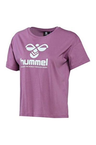 HMLVODER Mor Kadın T-Shirt 101085889