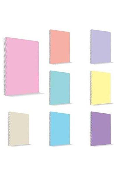 Umix My Note Flex Pastel A4 120 Yaprak Çizgili Spiralli Plastik Kapak