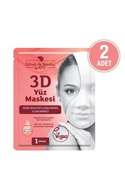 Rituel De Beaute Hücre Yenileyici Ve Canlandırıcı 3d Maske