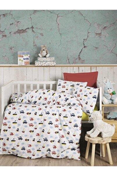 Kardelen Pamuklu Bebek Yatak Çarşafı Örtüsü