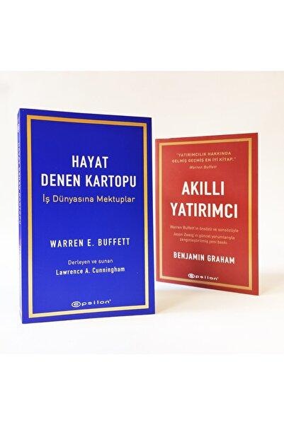 Epsilon Yayınevi Akıllı Yatırımcı Seti 2 Kitap Benjamin Graham Warren Buffett