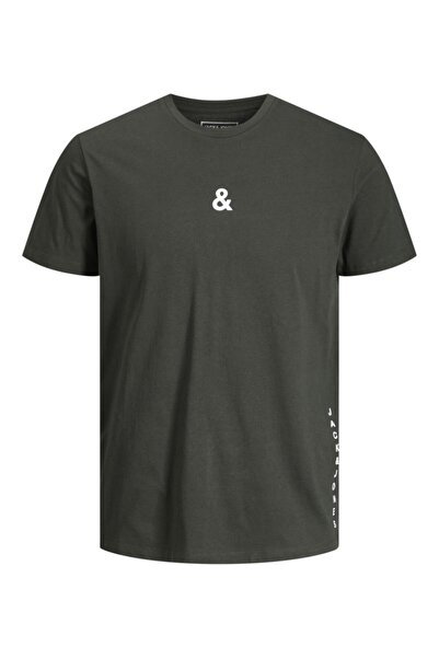 Jack & Jones Bisiklet Yaka T-shirt 12202311 Jcovertıcal
