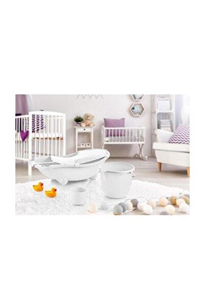 Dünya Plastik 3 lü Baby Banyo Set (File Hediyeli) - Mint
