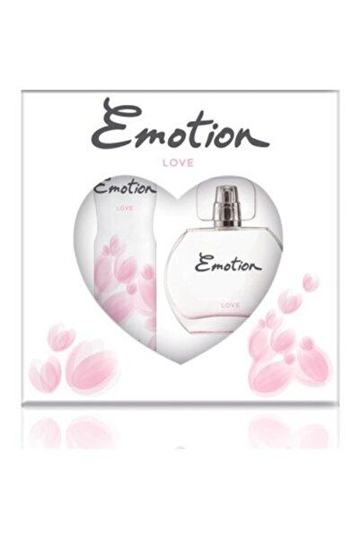 Emotion Love Edt 50ml Kadın Parfüm  + Deodorant 150ml Set mlxh27