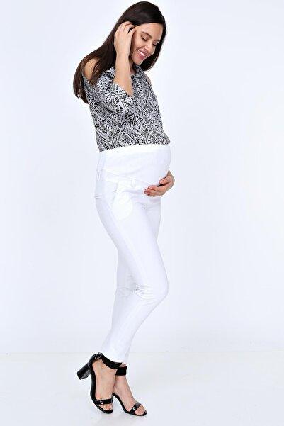 Işşıl 3506-bilek Boy Hamile Dar Paça Kumaş Pantolon