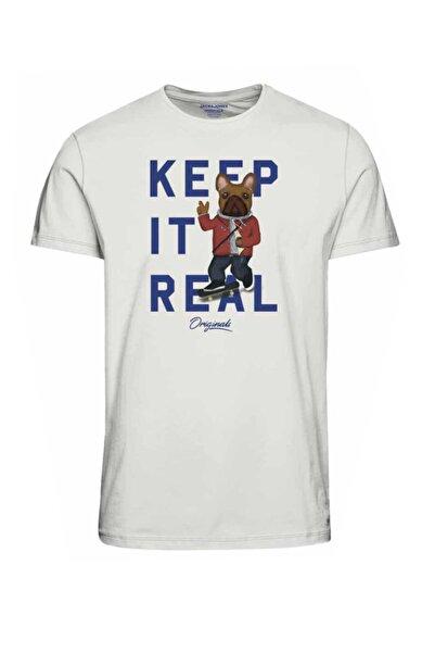 Jack & Jones Bisiklet Yaka T-shirt 12202261 Jorfrenchıes