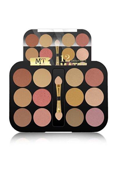 Makeuptime Mt 12 Li Matte Far Paleti 03