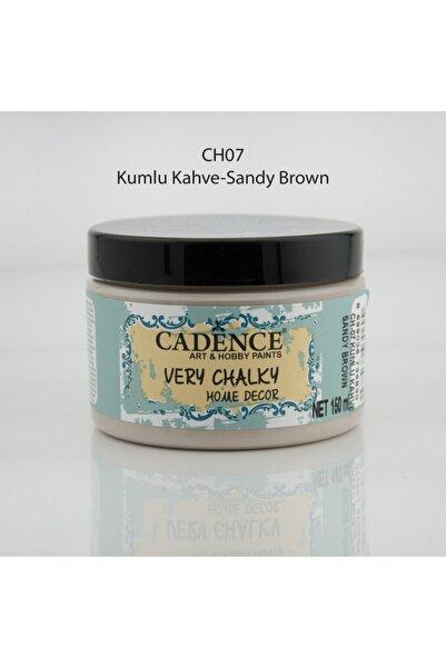 Cadence Very Chalky Home Decor Mobilya Boyası 150 ml. 07 Kumlu Kahve