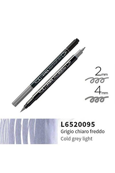 LYRA Aqua Brush Duo Çift Ve Fırça Uçlu Çizim Kalemi - Cold Grey Light