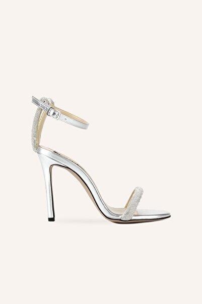MARCATELLI Gümüş Vandetta Topuklu Sandalet