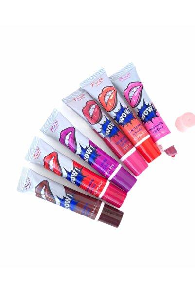 Roesıa Rose Cosmetics Rose Kalıcı Soyulabilir 6'lı Ruj Seti