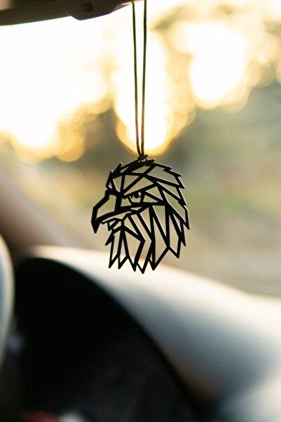 Oyunzu Araba Süsü Metal Kara Kartal Dikiz Aynası Süsü