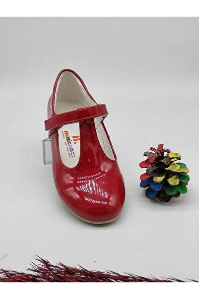 Minican Kız Çocuk Kırmızı Rugan Ayakkabı 21-30
