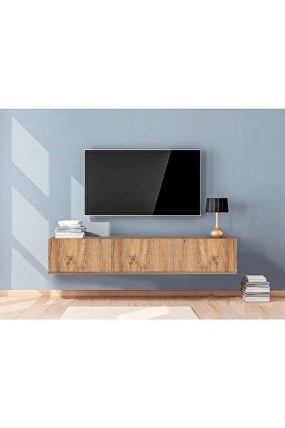 Haus Modüler Meşe Deco Tv Sehpası