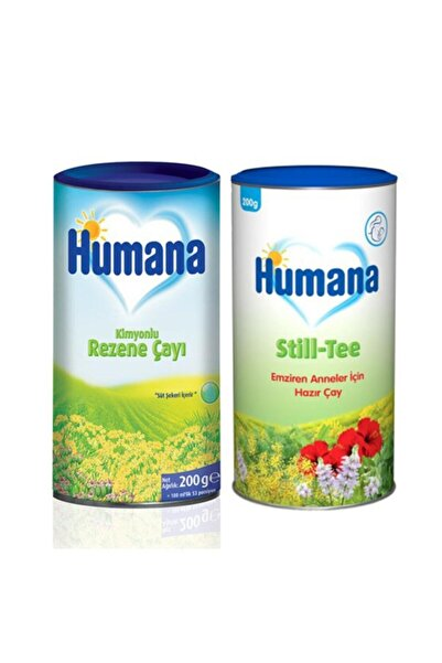 Humana Still Tee Emziren Anneler Için Hazır Çay 200 gr + Rezene Çayı 200 gr