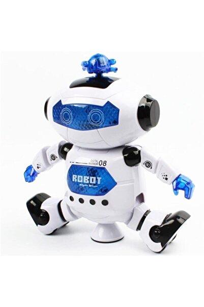 snrtrend Oyuncak Işıklı Sesli Dans Eden Oyuncak Robot Pervaneli