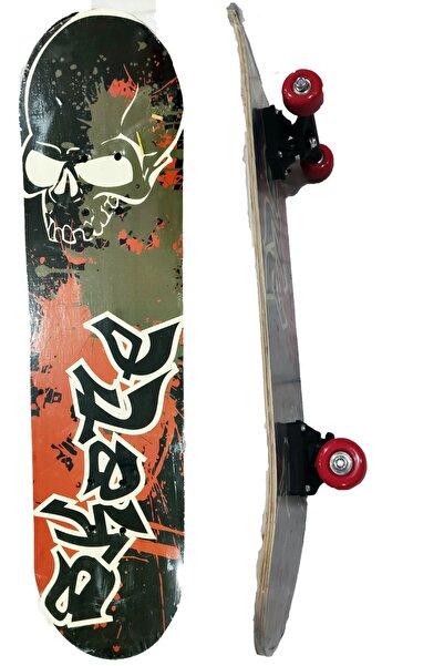 "Nivagatore Tahta Kaykay 7 Katmanlı Uzunluğu 79cm ( 31"") X 21cm (8"")pro Komple Skate Board Kanada Akçaağaç"