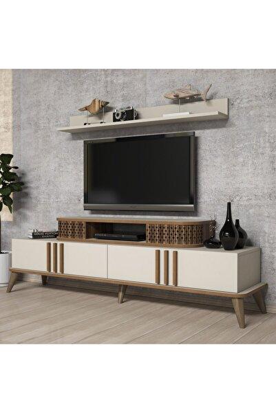 Variant Mobilya Eylül Tv Ünitesi - Krem