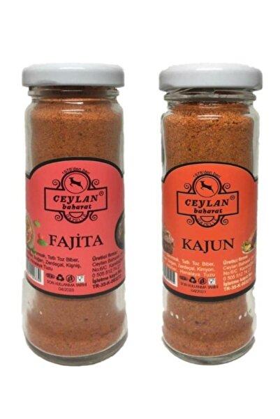 Ceylan Baharat Özel Set (CAM) Fajita Baharatı 50 gr Kajun Baharatı 50 gr