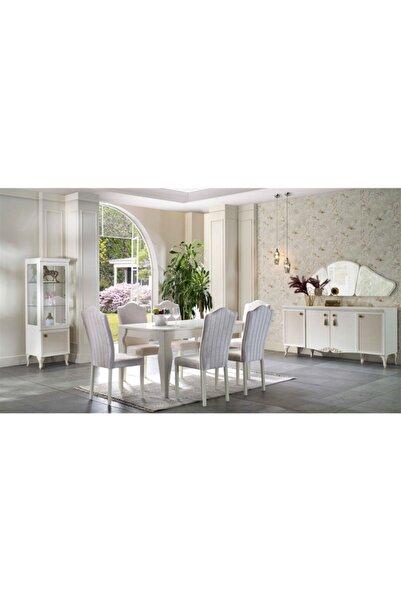 Bellona Perlino Açılır Yemek Masası 6 Sandalye